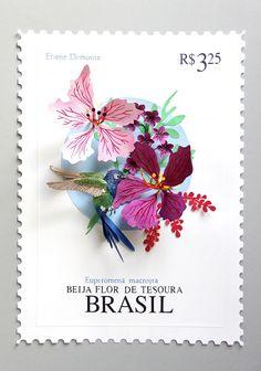 The beautiful paper sculptures of Colombian artist Diana Beltran Herrera. (Blog: Miss Moss)