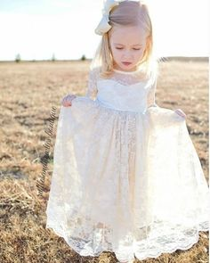 She twirls in fields of dreams, wild & free 💗  Available for our older girls this sweet vintage Victoria dress is as sweet as she is 🎀 We adore the keyhole back 🎀 📸: @the.three.r.girls  Tap photo to shop 🛍 Reposted Via @rufflesandbowtiebowtique