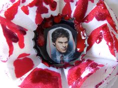 Bloody Dexter Morgan Hair Clip by MarthasFancy on Etsy Dexter Morgan, Hair Clips, Fruit, Trending Outfits, My Style, Unique Jewelry, Handmade Gifts, Desserts, Etsy