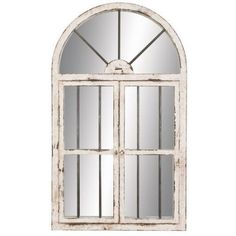 Aspire Home Accents Arched Window Wall Mirror - 25W x 42H in. - Walmart.com
