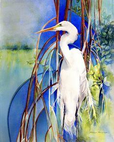 """Mangrove Sanctuary"" Original Watercolor by Kathleen Noffsinger"