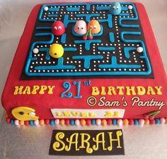Pacman Cake by SamsPantry
