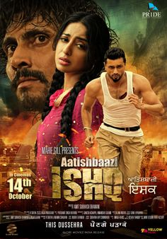 Download Aatishbaazi Ishq 2016 free movie with safe and secure server from movies4star. Aatishbaazi Ishq is a latest Punjabi movie starer Roshan prince. Here you can also download latest Hindi, English and Tamil movies and watch 2017 most popular movies trailer online for free.