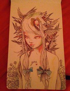 Una gran ilustradora ~
