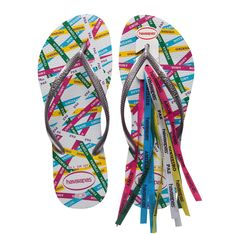 Havaianas - love these! I have accumulated several pair since meeting my friends from all over Brazil. Now I want to wear them in Rio, Porto Alegre and Salvador!