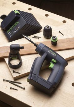 Festool-Drill-2. This drill is perfect for a womans hand. Its light weight but powerfull.