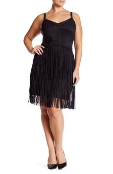 Jessica Simpson - Fringe Dress (Plus Size)