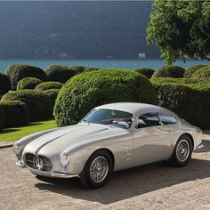 """• La dolce vita. Maserati A6G/54 2000 Berlinetta Zagato 1956' Est. 2.000.000 € • Look the video http://youtu.be/BgbLXqVQ298 #ladolcevita #maserati…"""