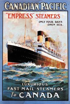 """Canadian Pacific """"Empress"""" Steamers"""