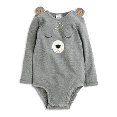 Bodysuit, Grey, Tops, Kids | Lindex