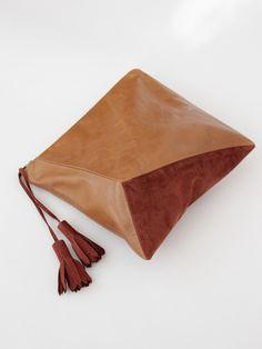 Ursa Minor Cubist Clutch Special Edition - Caramel/Rust « Pour Porter