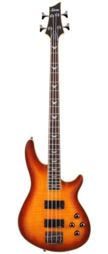 Schecter Electric Bass Guitar - Omen Extreme 4-string Vintage Sunburst ** Check this awesome product by going to the link at the image.