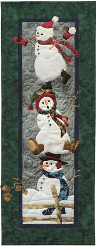PineNeedles.com : Making Spirits Bright quilt by McKenna Ryan