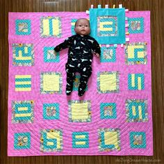 de Jong Dream House: Quilt #75: Weaver First Year milestone quilt