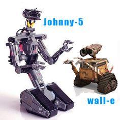 johnny 5 wall-e