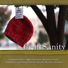 CraftSanity Magazine Issue 1 Print Edition by CraftSanity on Etsy, $12.00