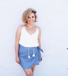 Never can go wrong with fresh whites and denim  Em wears the softest skirt by @thefifthlabel and our Stevie top.  Link in bio #fashionbackroom . . . . . . #style #fashion #onlineshopping #fashionblogger #ootd #expressdelivery #sydneyfashionblogger #melbournefashionblogger #modellife #luxe #outfitgoals