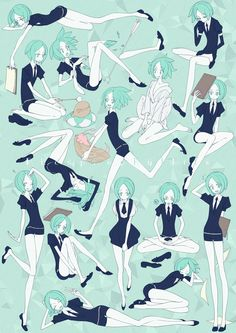 Land of the Lustrous -Phosphophyllite