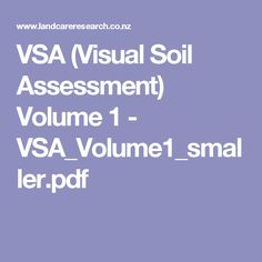 VSA (Visual Soil Assessment) Volume 1 - VSA_Volume1_smaller.pdf
