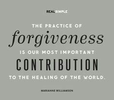 Forgive...it's good for the soul♡