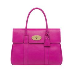 Bayswater in Mulberry Pink Glossy Goat | Women's Bags | Mulberry
