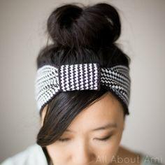 Crochet HeadBand - Tutorial ❥ 4U hilariafina http://www.pinterest.com/hilariafina/