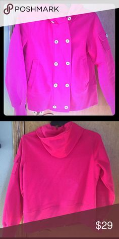 Ariat Pink Pea Coat sweatshirt size medium Ariat Pink Pea Coat sweatshirt size medium Ariat Tops Sweatshirts & Hoodies