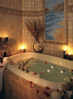 #choiceisyours #inspiration #herstyle36 Romantic Bathroom Ideas