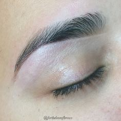 I love a beautiful full, well shaped brow with clean lines! I waxed, trimmed and tweeted my clients brows. Next, I highlighted the brow bone with Kelley Baker Brows highlighter pencil and filled in with Kelley Baker's brow powder in Brunette. My name is Marisa Rios and I am an eyebrow artist based out of Chandler, Arizona. Follow me on Instagram! @fortheloveofbrows