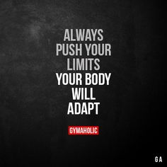 Gymaholic motivation to help you achieve your health and fitness goals. Try our free Gymaholic Fitness Workouts App. Sport Motivation, Fitness Motivation Quotes, Weight Loss Motivation, Bodybuilding Motivation Quotes, Fitness Workouts, Fun Workouts, Fitness Games, Exercise Routines, Fitness Inspiration Quotes