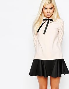 Sister Jane Lunar Eyelet and Bow Blouse