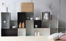 Lehtorinne Wallbox 25 hylly, valkoinen - Designbox Cube Shelves, Shelf, Wall Boxes, Diy Furniture, Family Room, House Design, Interior Design, Studio, Storage