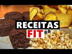 RECEITAS FIT PARA HORA DO LANCHE - RÁPIDO DE FAZER E MUITO BARATO #3 - YouTube