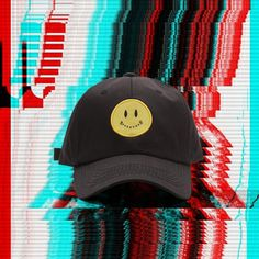 88df858767cb SMILEY FACE WITH SPECIAL QUOTE BASEBALL CAP BLACK from soldrelax