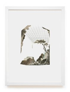 Collage work by Paris-based artistClaire... - Exhibition-ism
