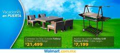 ¿Vas a tener visitas estas vacaciones? Checa los artículos que tenemos para que disfrutes en familia. Walmart.com.mx, Hacemos Clic!