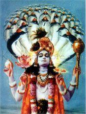 Hindu Art: Sri Visnu Poster