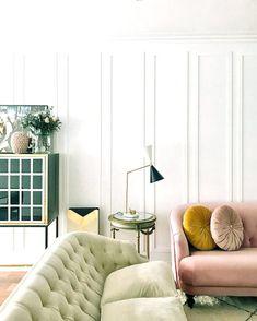 Modern Interior Design Tips for Dream Home - Abchomedecor Eclectic Living Room, Living Room Sofa, Living Room Decor, Living Area, Living Spaces, Home Interior, Modern Interior Design, Interior Decorating, Church Interior