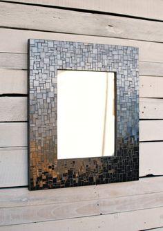 Espejo personalizado mosaico espejo marco gran por PhoenixHandcraft