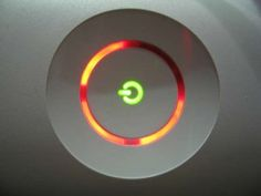 The dreaded #Xbox360 Red Ring of Death. If you see this you know that you're in trouble!