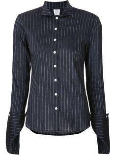 ROSIE ASSOULIN Pinstripe Shirt. #rosieassoulin #cloth #shirt