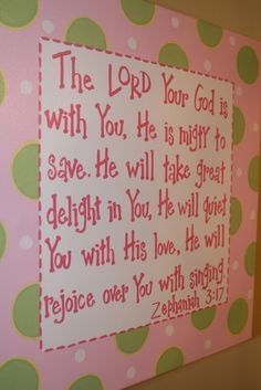 Great verse for a kid's room Bible Quotes, Me Quotes, Bible Verses, Scriptures, Mighty To Save, Ideas Prácticas, Scripture Art, Bible Art, Jesus Freak
