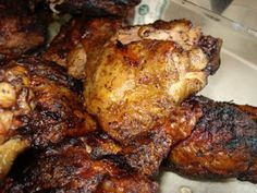 What we've got cookin': Grilled BBQ Chicken Marinade