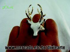 Anel Alce Branco  www.mercado.etc.br/dixiearte