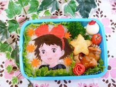Kiki's bento box, studio ghibli food