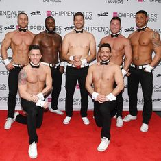 The Bachelorette Winner Garrett Yrigoyen Strips down at Chippendales at Rio All-Suite Hotel & Casino in Las Vegas for One Night Only – Joined by Becca Kufrin (Photo credit: Denise Truscello / WireImage) Ian Ziering, Becca Kufrin, Tyson Beckford, Nyle Dimarco, Joey Lawrence, Vegas Shows, Famous Men, Rehearsal Dinners