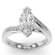1.50ct Marquise Engagement Ring by Carati Jeweller. I like this setting!