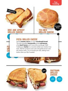 Recipe box grilled cheese please from the magnolia journal from food network magazine issue of september 2015 on next issue forumfinder Gallery