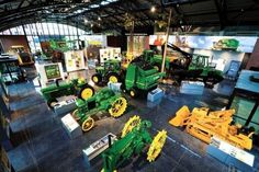 Quad Cities: What to see and do. The John Deere Pavillion in Moline Illinois.