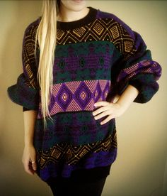 Cosby Hipster Sweater. $28.00, via Etsy.